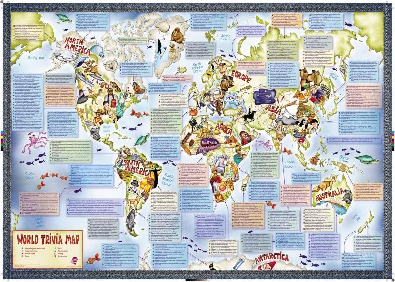 Trivia Map