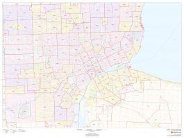 Detroit Zip Code Map Michigan