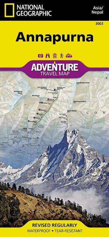 Annapurna Map [Nepal]