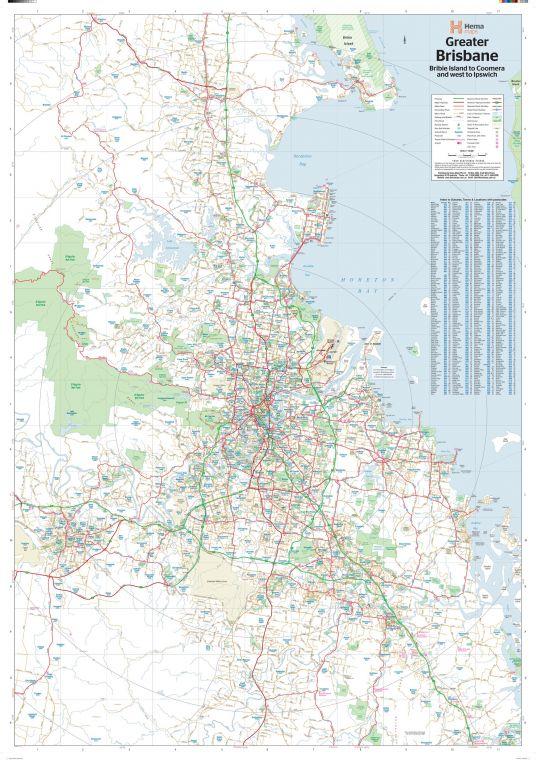 Brisbane Region Supermap