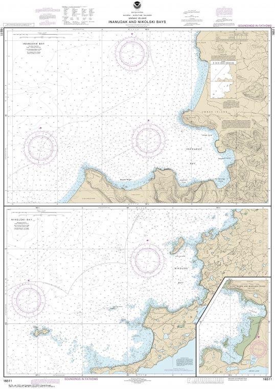 Noaa Chart 16511 Map