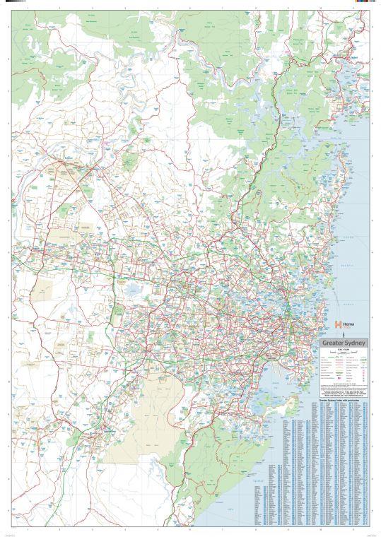Sydney Region Supermap