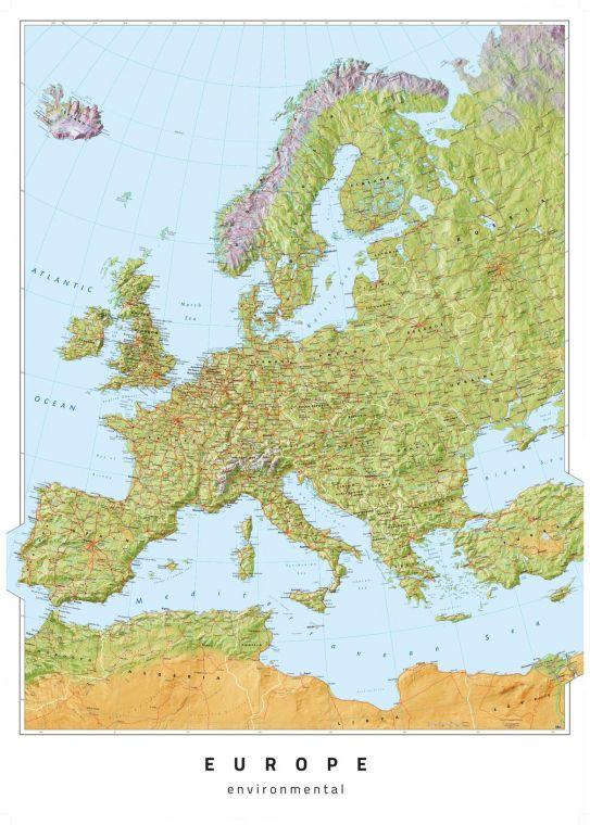 Europe Environmental Map
