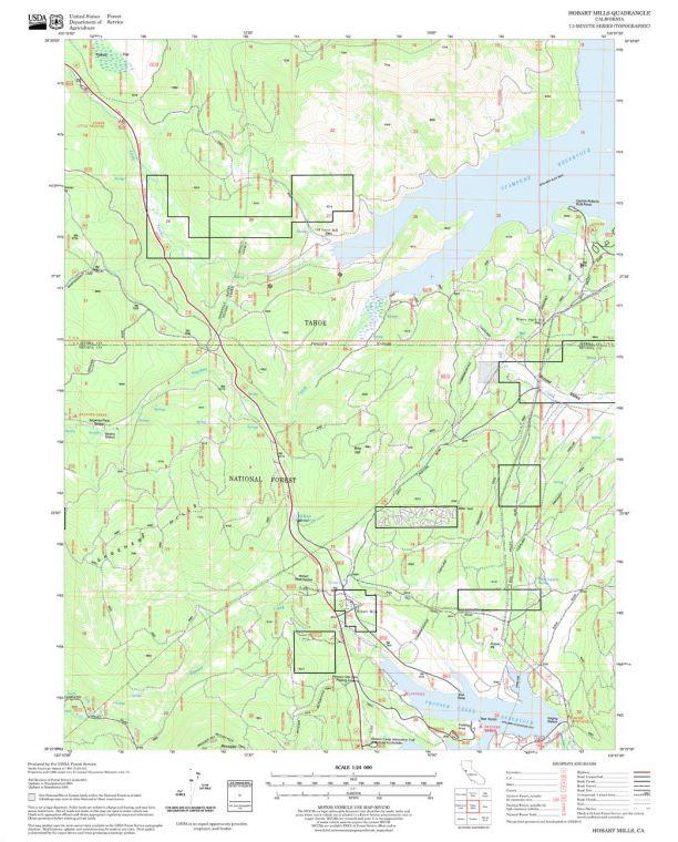 Hobart Mills Quadrangle Map