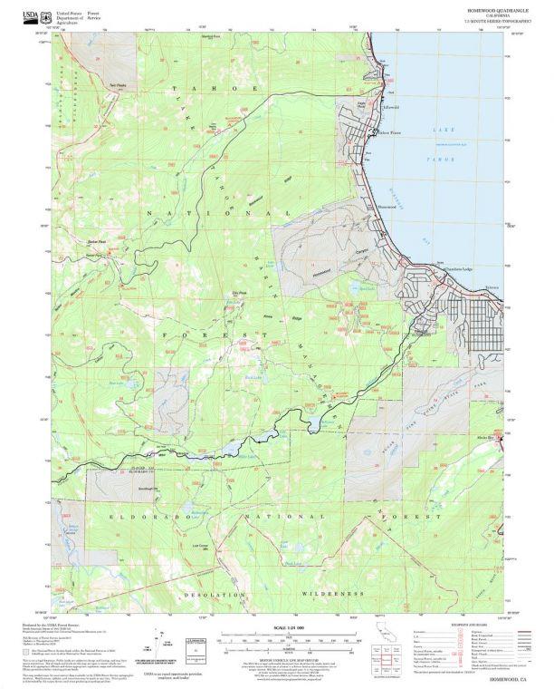 Homewood Quadrangle Map