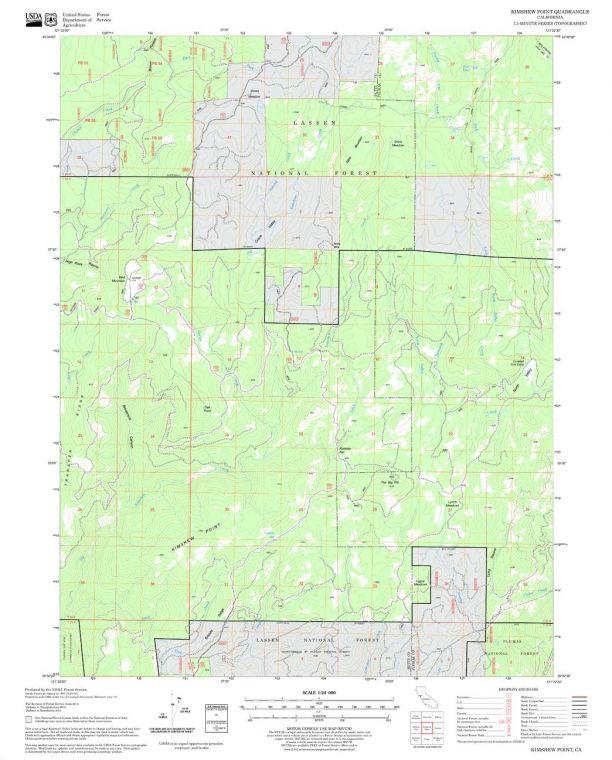 Kimshew Point Quadrangle Map