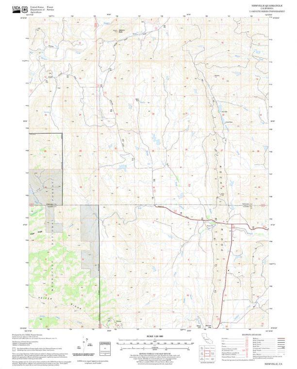 Newville Quadrangle Map