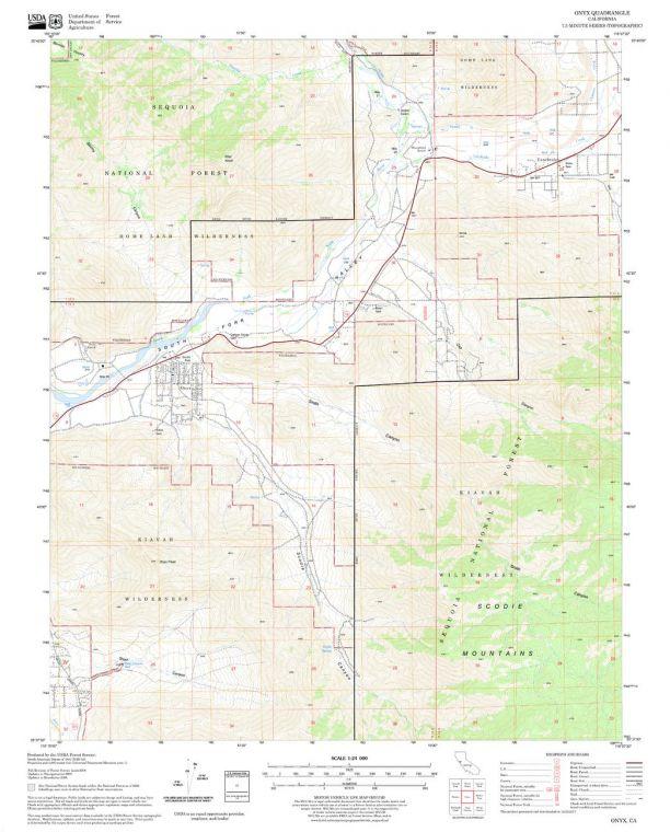 Onyx Quadrangle Map