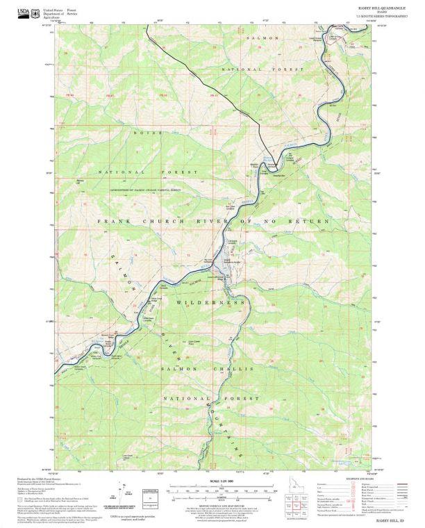 Ramey Hill Quadrangle Map