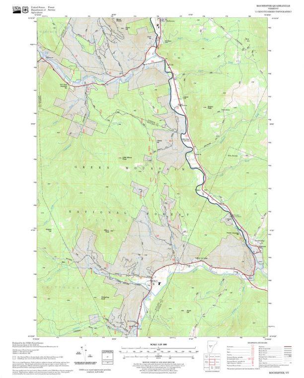 Rochester Quadrangle Map