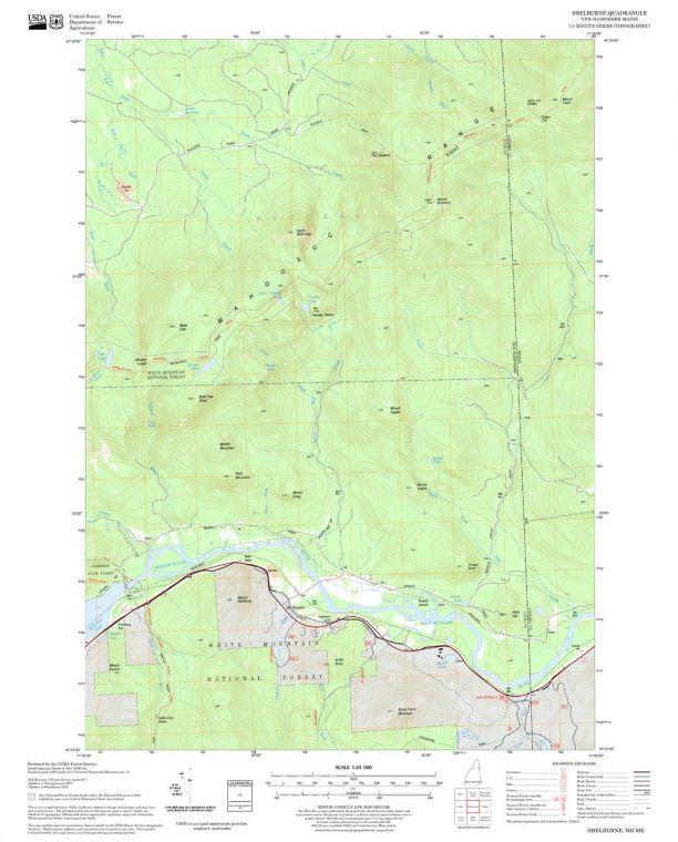 Shelburne Quadrangle Map