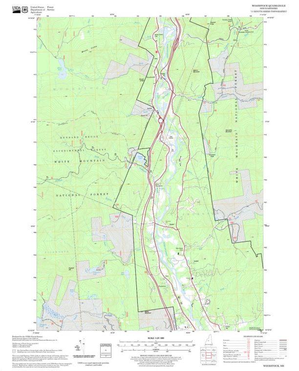Woodstock Quadrangle Map