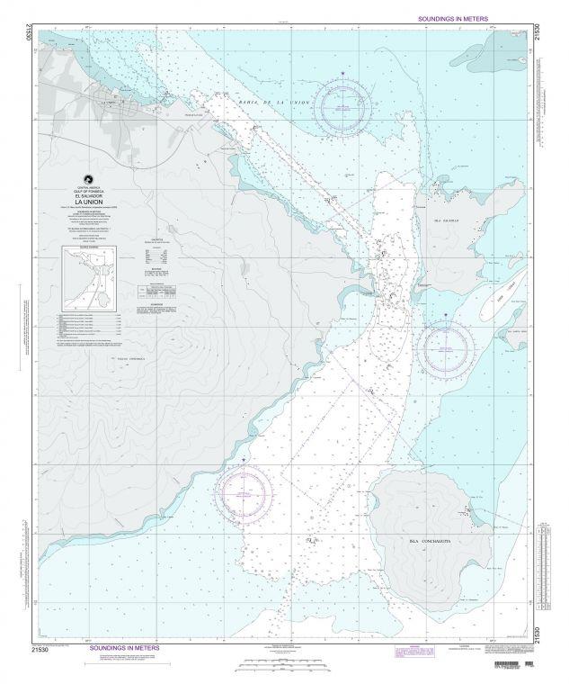 NGA Chart 21530 La Union