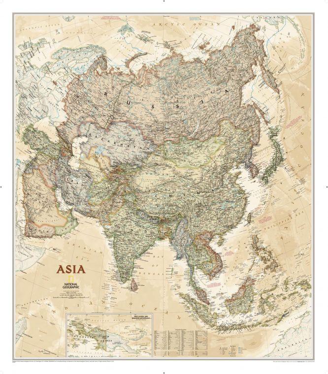 Asia Executive Map
