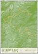 Glyndwr S Way National Trail Map Print