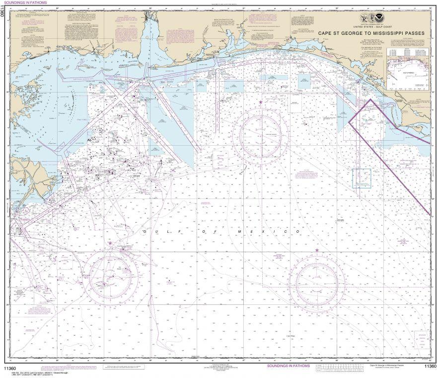 Noaa Chart 11360