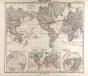 World Map Gotha Justus Perthes 1872 Atlas