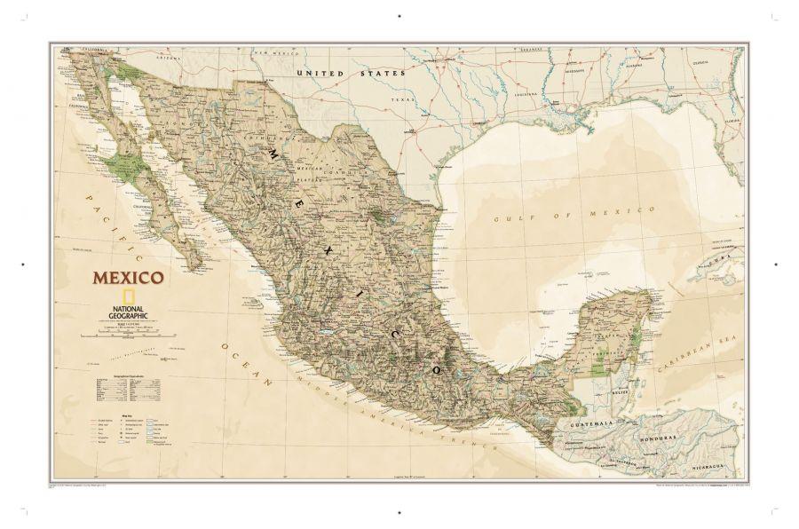 Mexico Executive Map