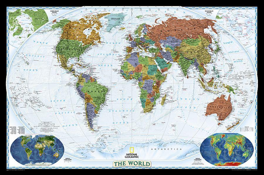 World Decorator Map