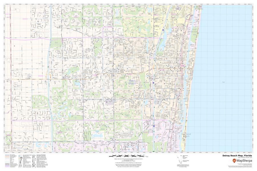 Delray Beach Map