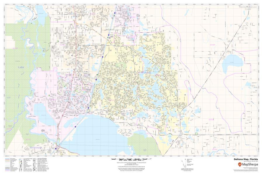 Deltona Map