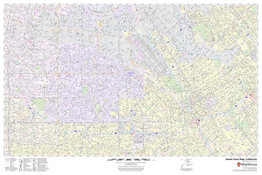 Santa Clara Map