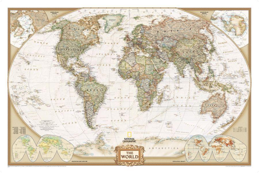 World Executive Map