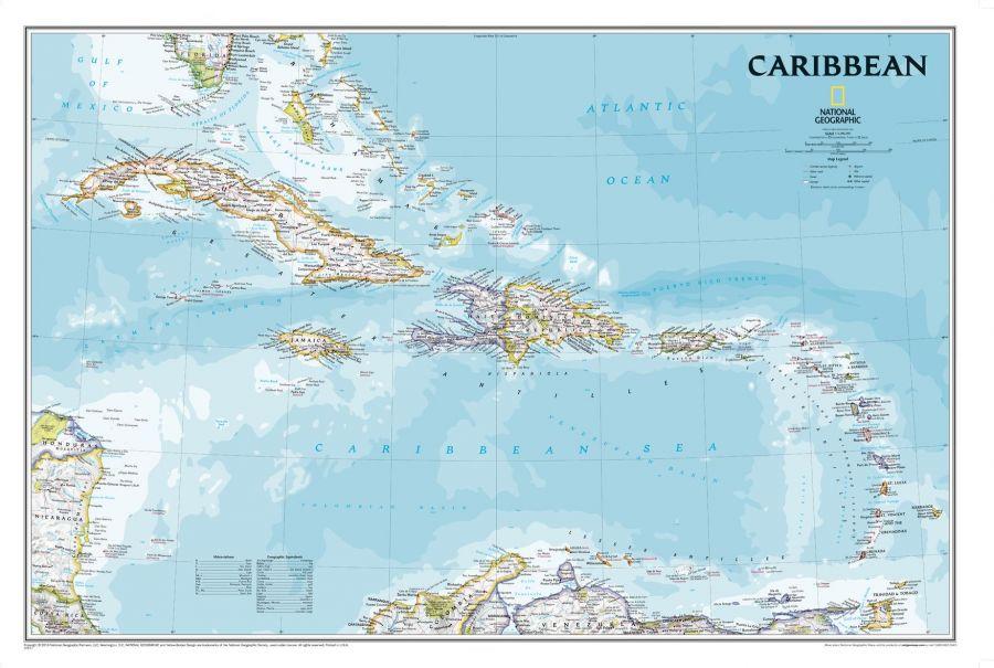 Caribbean Classic Map