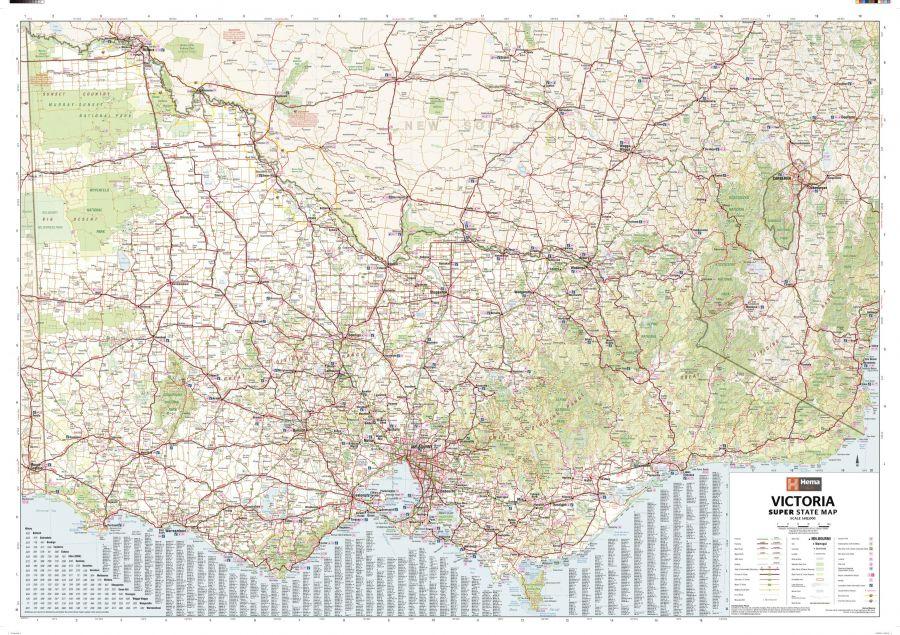 Victoria Australia State Supermap