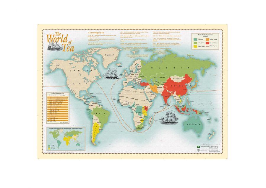 World Of Tea Map