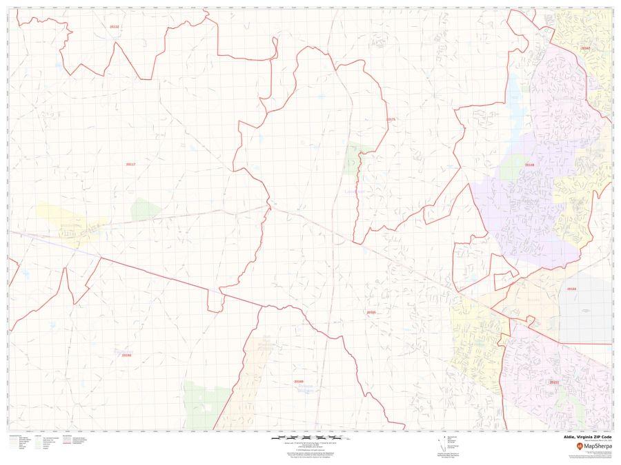 Aldie ZIP Code Map