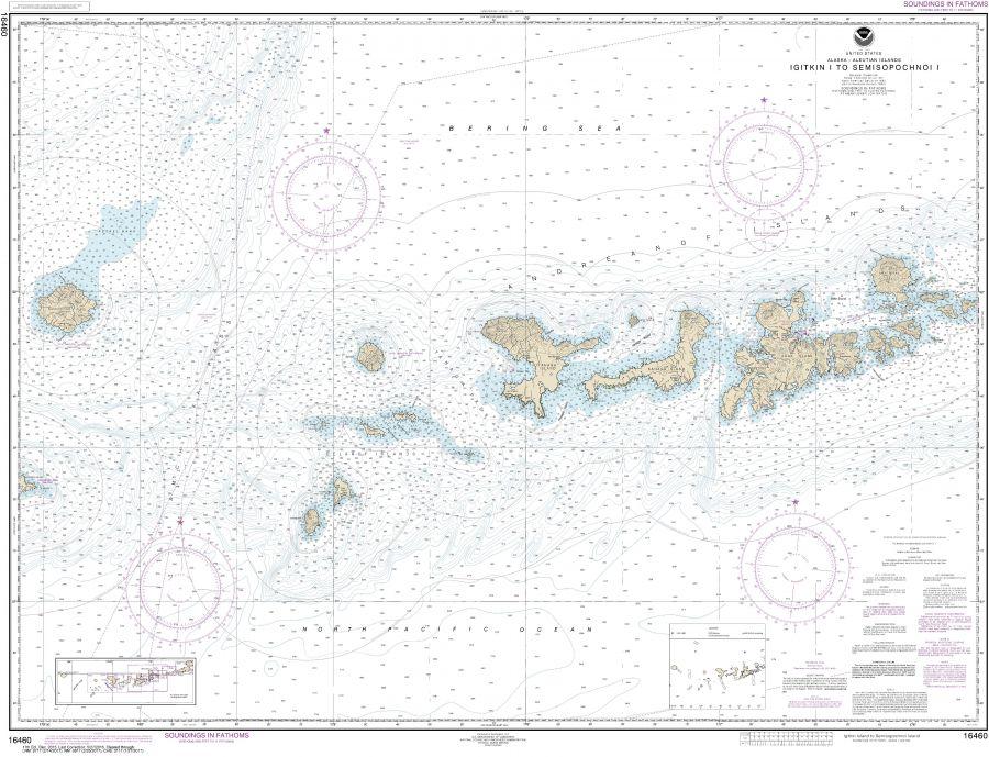 Noaa Chart 16460