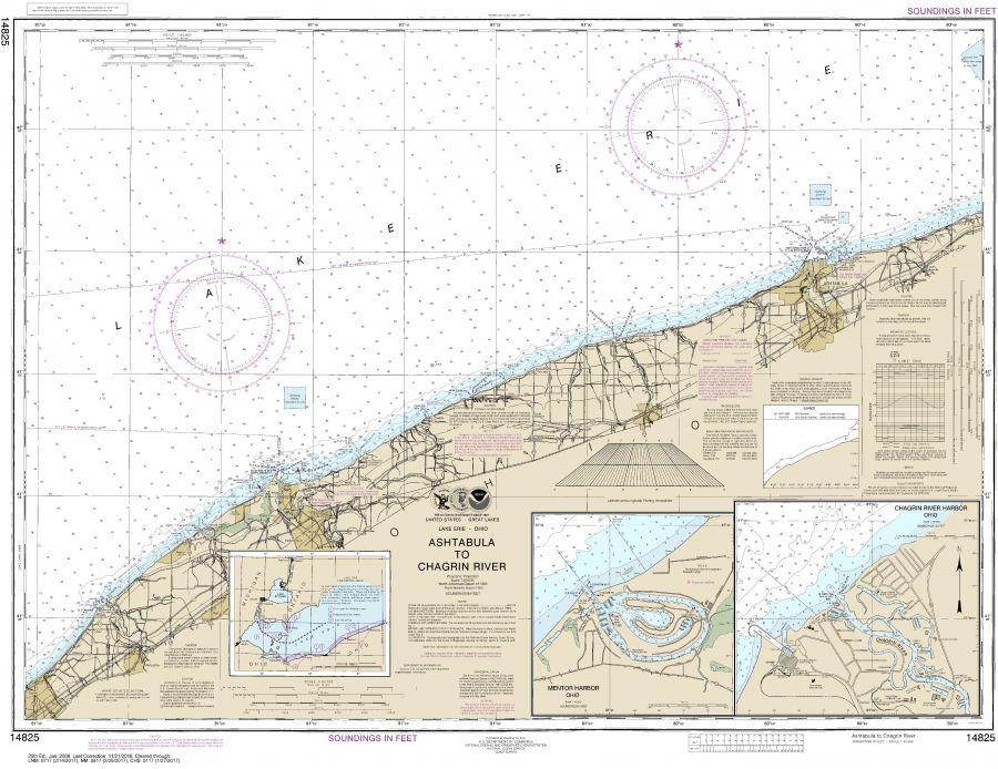 Noaa Chart 14825 Map
