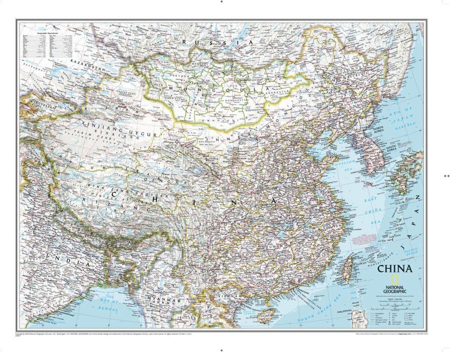 China Classic Map