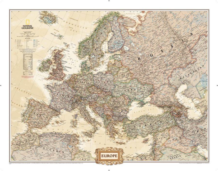 Europe Executive Map