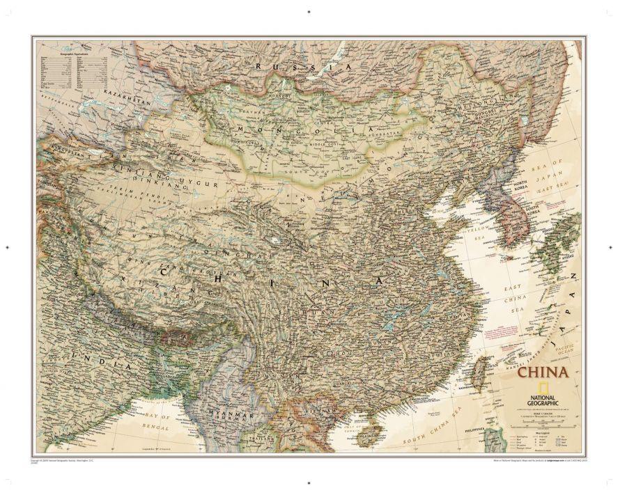 China Executive Map