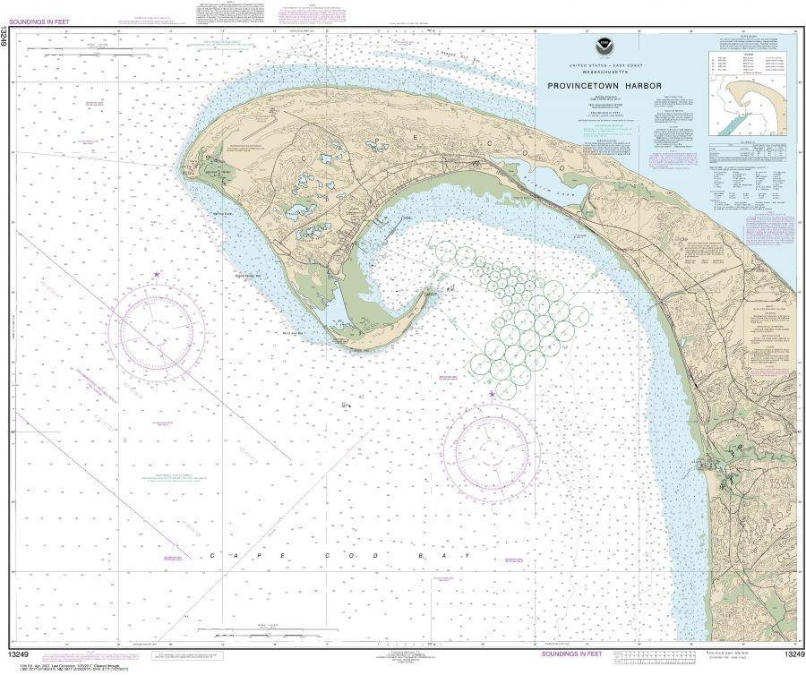 Noaa Chart 13249 Provincetown Harbor