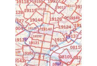 Connecticut Zip Code Maps