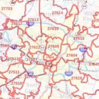 Raleigh zip code