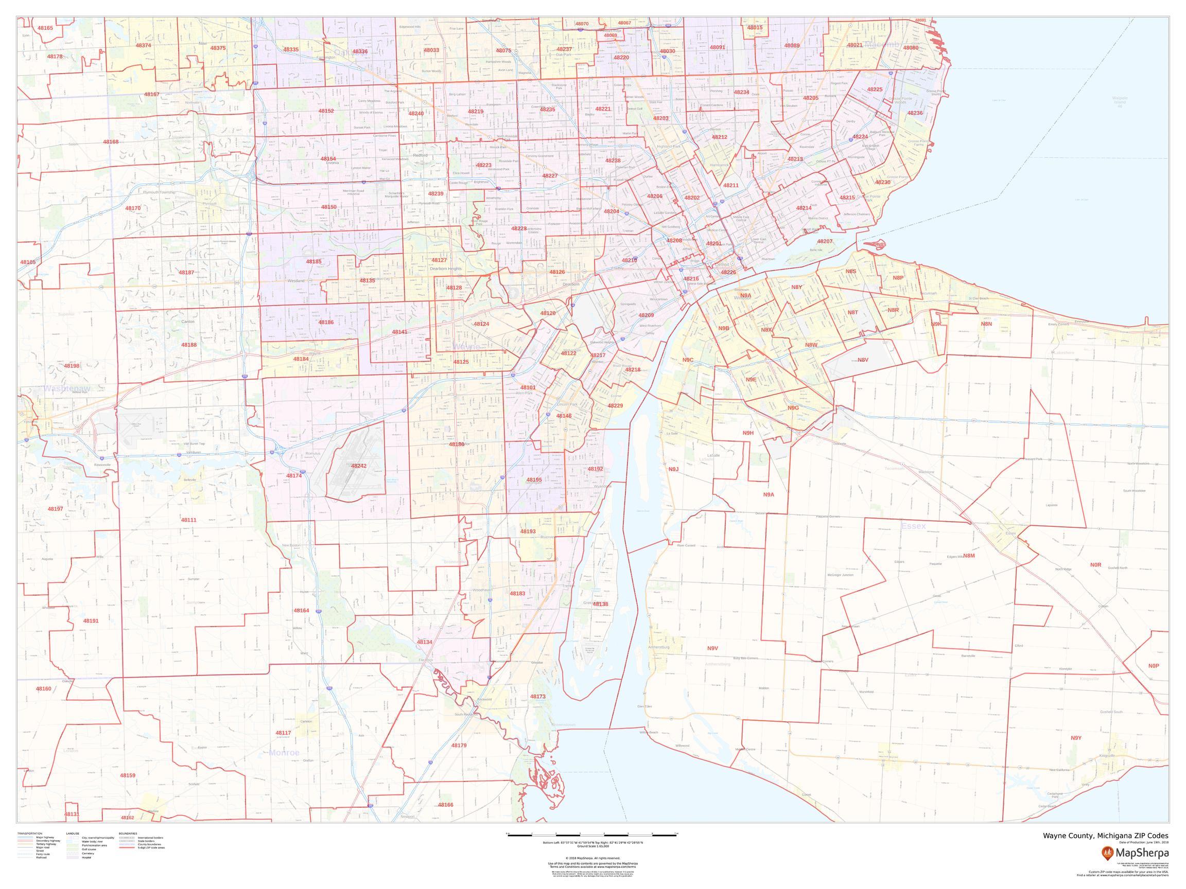 Wayne County ZIP Code Map (Michigan) on alabama counties map, kansas counties map, oklahoma counties map, mississippi counties map, northern iowa counties map, new mexico counties map, utah counties map, rhode island counties map, north dakota counties map, memphis counties map, hawaii counties map, wyoming counties map, northern il counties map, illinois counties map, montana counties map, delaware counties map, tennessee counties map, massachusetts counties map, new hampshire counties map, minnesota counties map,